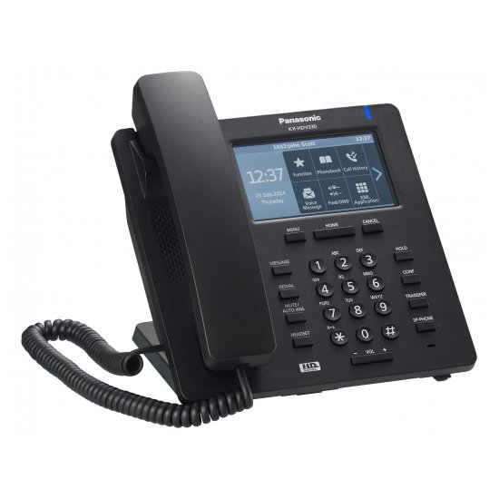 Проводной SIP-телефон Panasonic KX-HDV330RUB