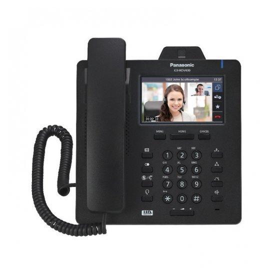 Проводной SIP-видеотелефон Panasonic KX-HDV430RUB