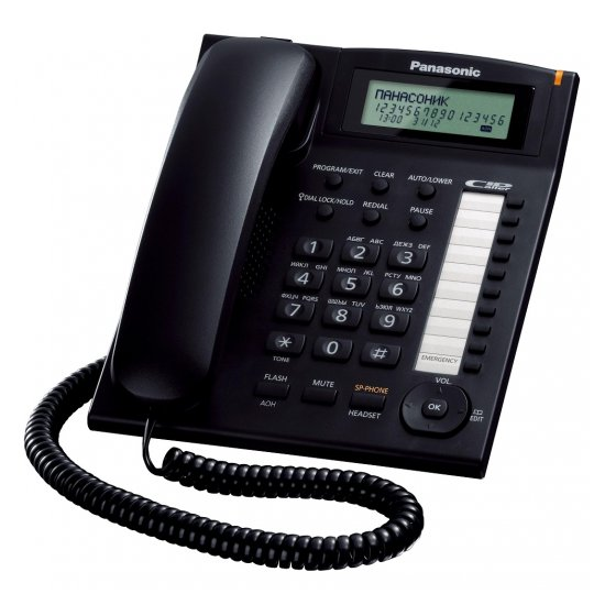 Проводной телефон Panasonic KX-TS2388RUB