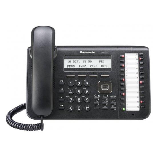 Системный цифровой телефон Panasonic KX-DT546RU-B