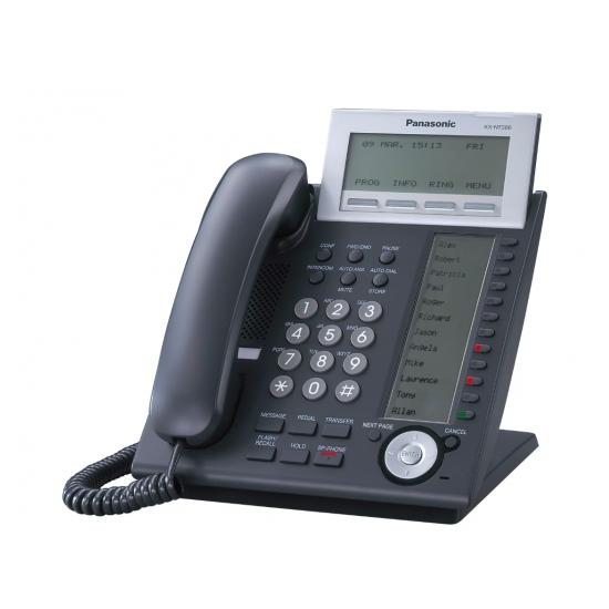 Системный IP-телефон Panasonic KX-NT366RU-B