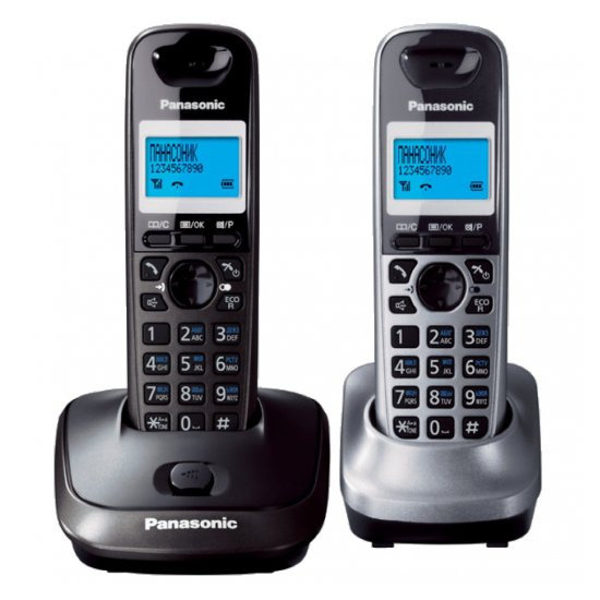 DECT-телефон Panasonic KX-TG2512RU2