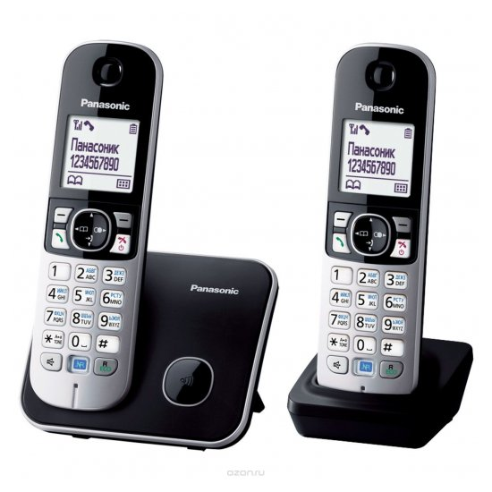 DECT-телефон Panasonic KX-TG6812RUB