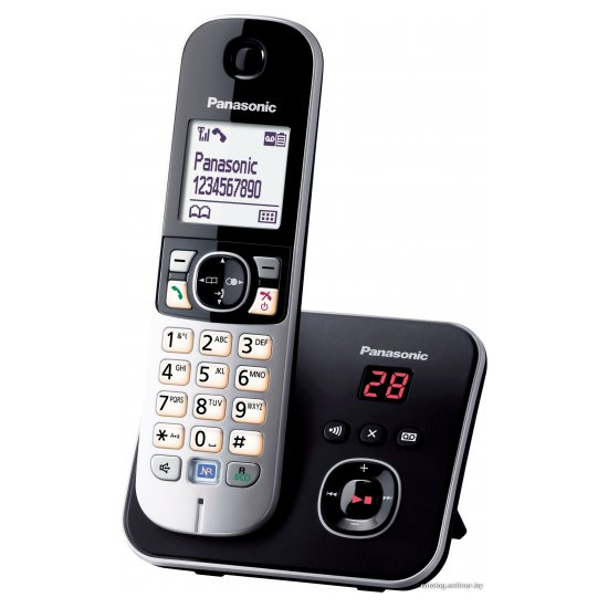 DECT-телефон Panasonic KX-TG6821RUB
