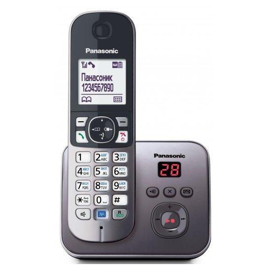 DECT-телефон Panasonic KX-TG6821RUM