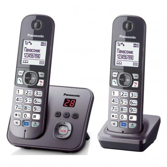 DECT-телефон Panasonic KX-TG6822RUM
