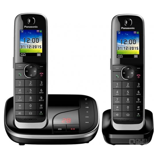 DECT-телефон Panasonic KX-TGJ312RUB