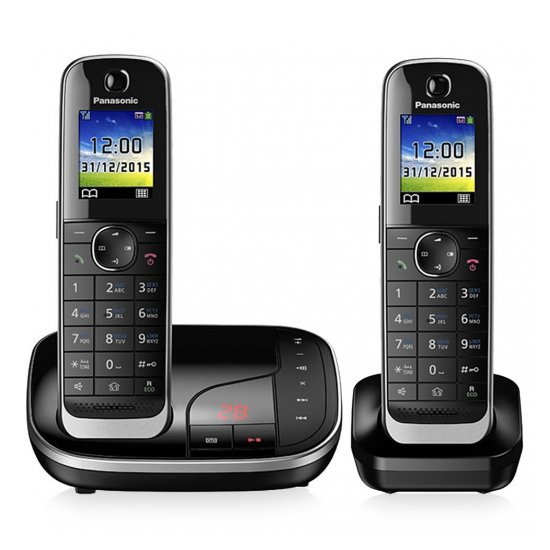 DECT-телефон Panasonic KX-TGJ322RUB