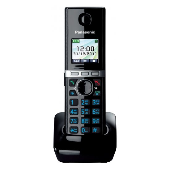 Радиотрубка Panasonic KX-TGA806RUB