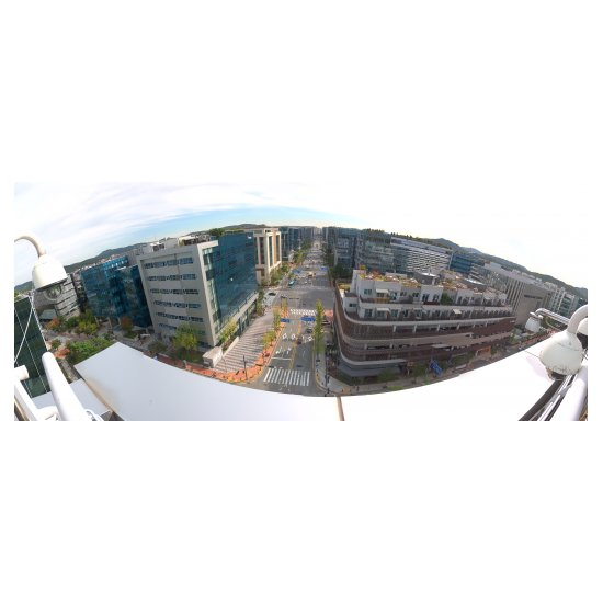 Панорамная IP видеокамера Wisenet (Samsung) PNM-9030V