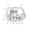 Корпусная IP камера Panasonic WV-S1131 - вид сзади